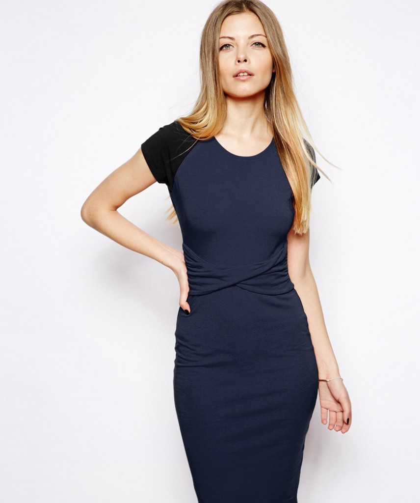 Dark dress for women over 40