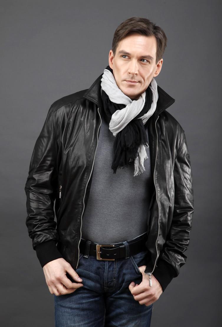 Стильные Мужские Кожаные Куртки