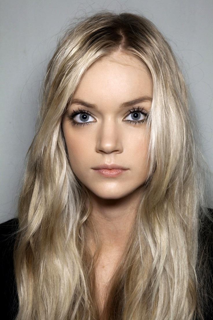 холодный оттенок блонд фото