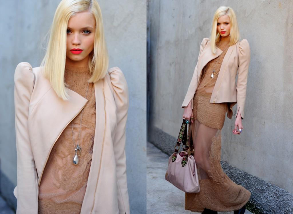 Холодный блонд для цветотипа зима