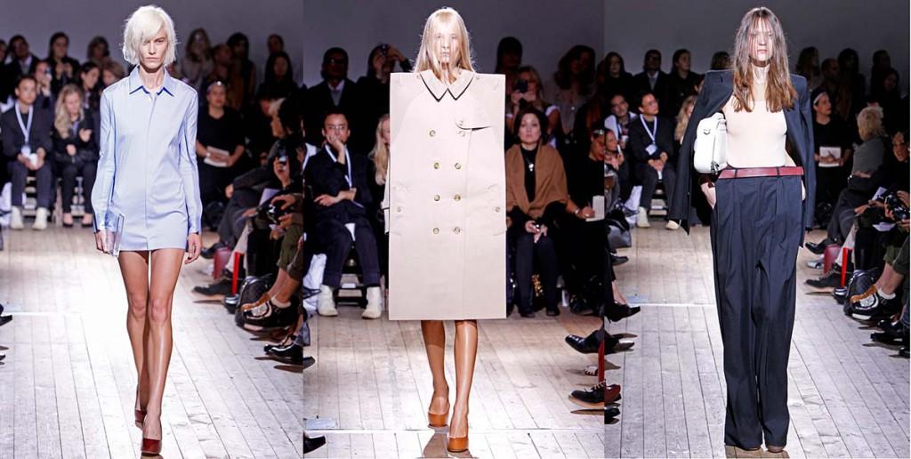 Экстравагантные женские подиумные наряды