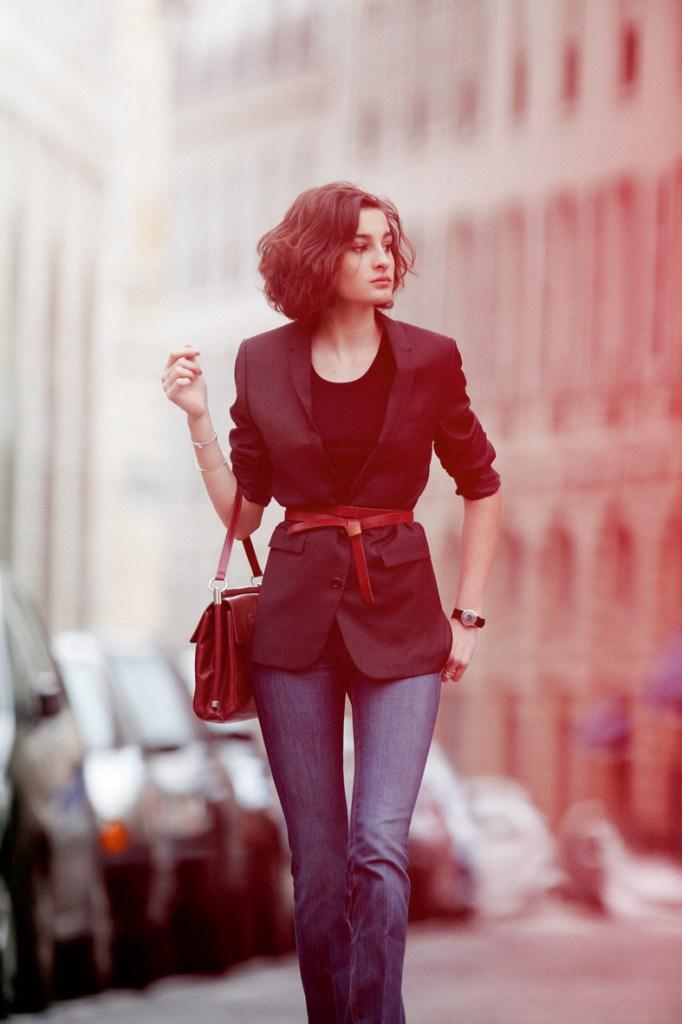 Образ девушки во французском стиле