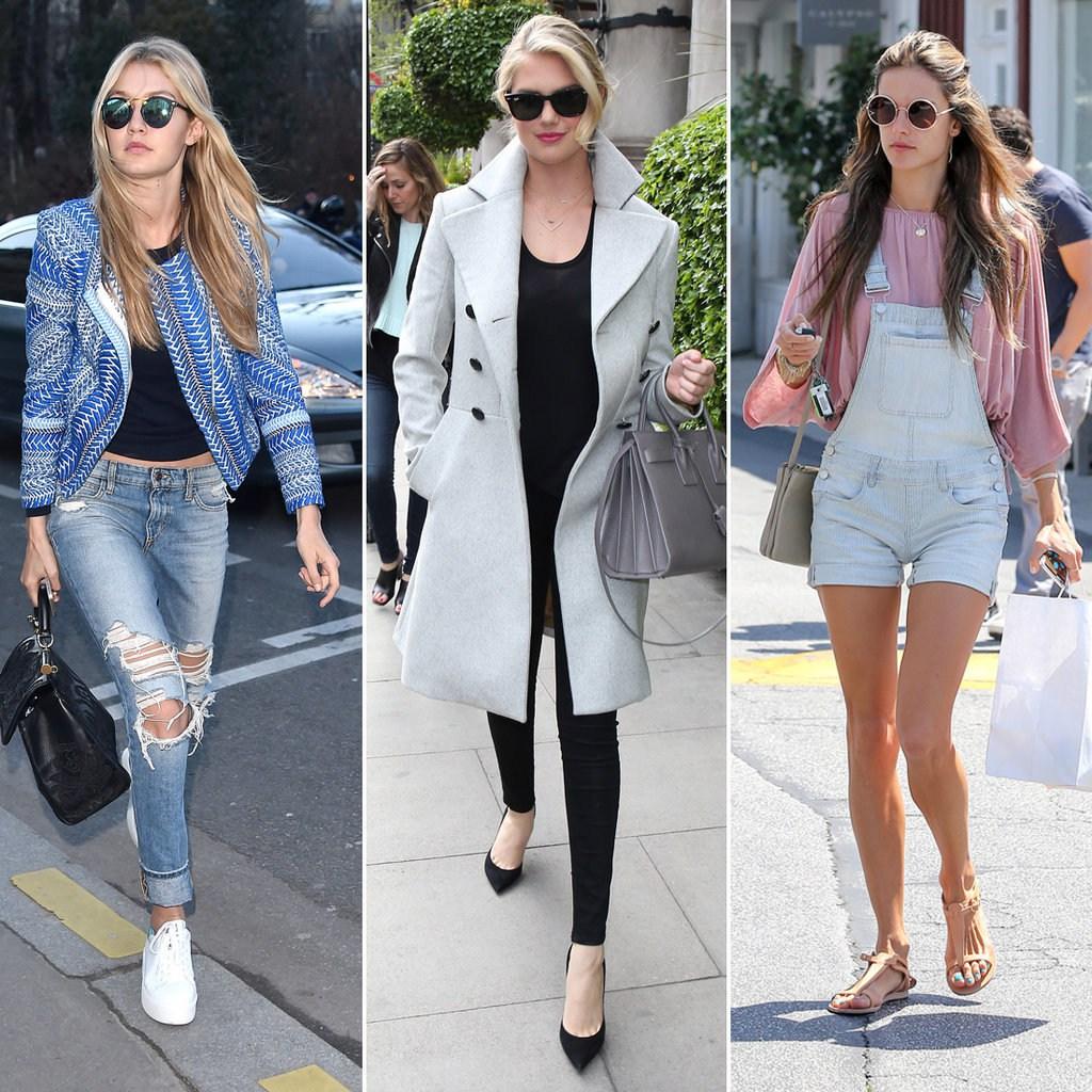 Модные женские образы во французском стиле