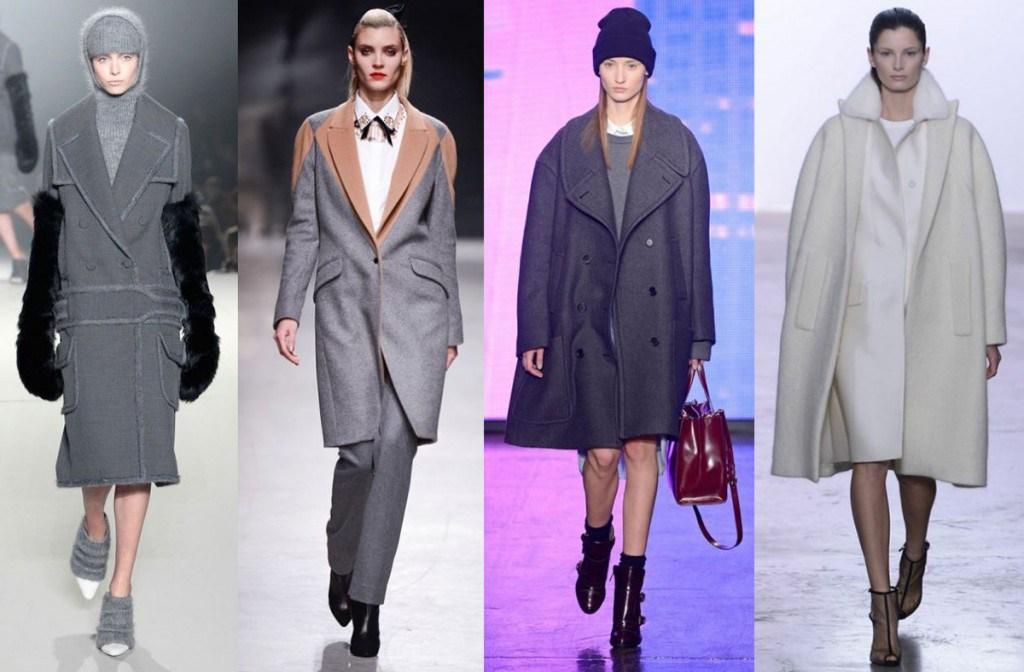 Модные женские классические пальто