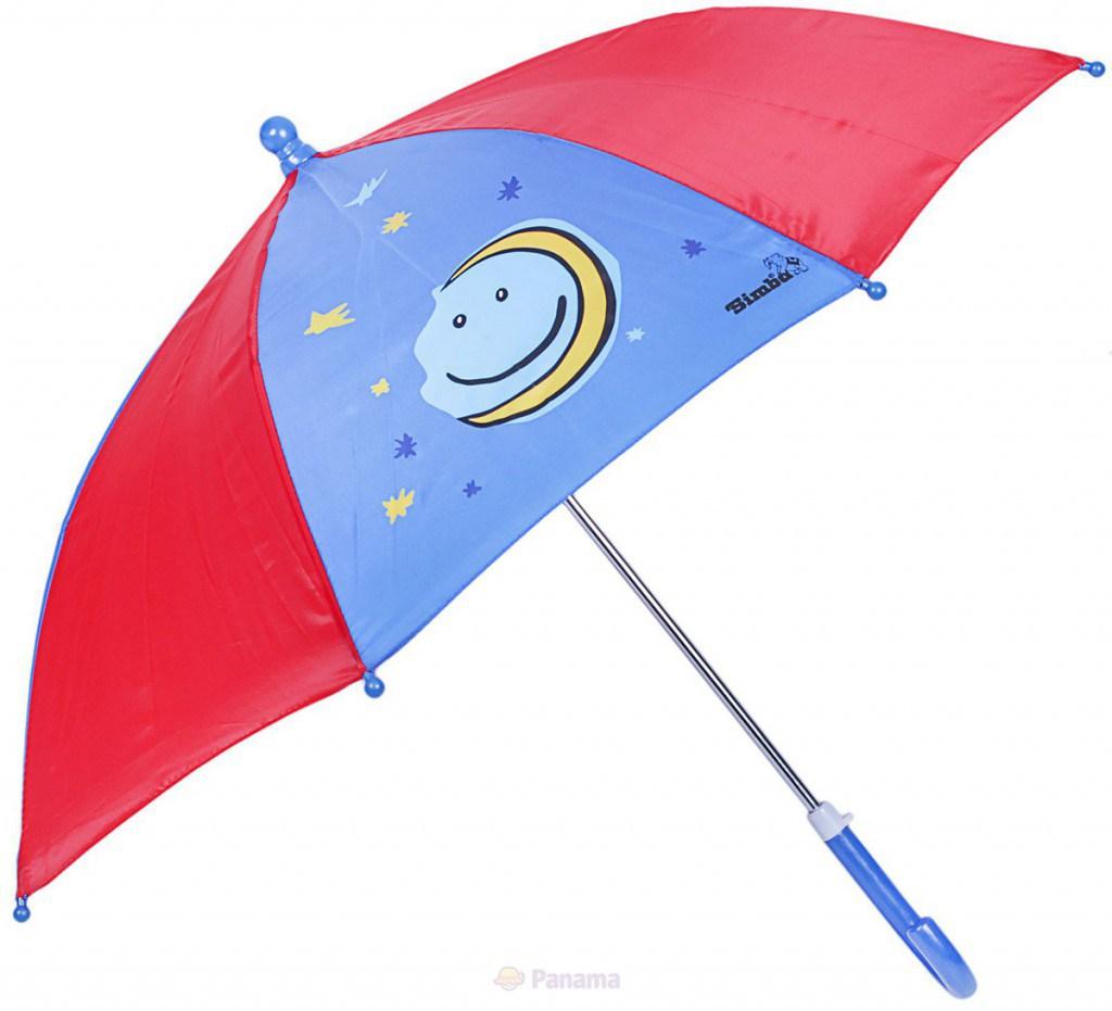 Модный детский зонтик месяц на ночном небе