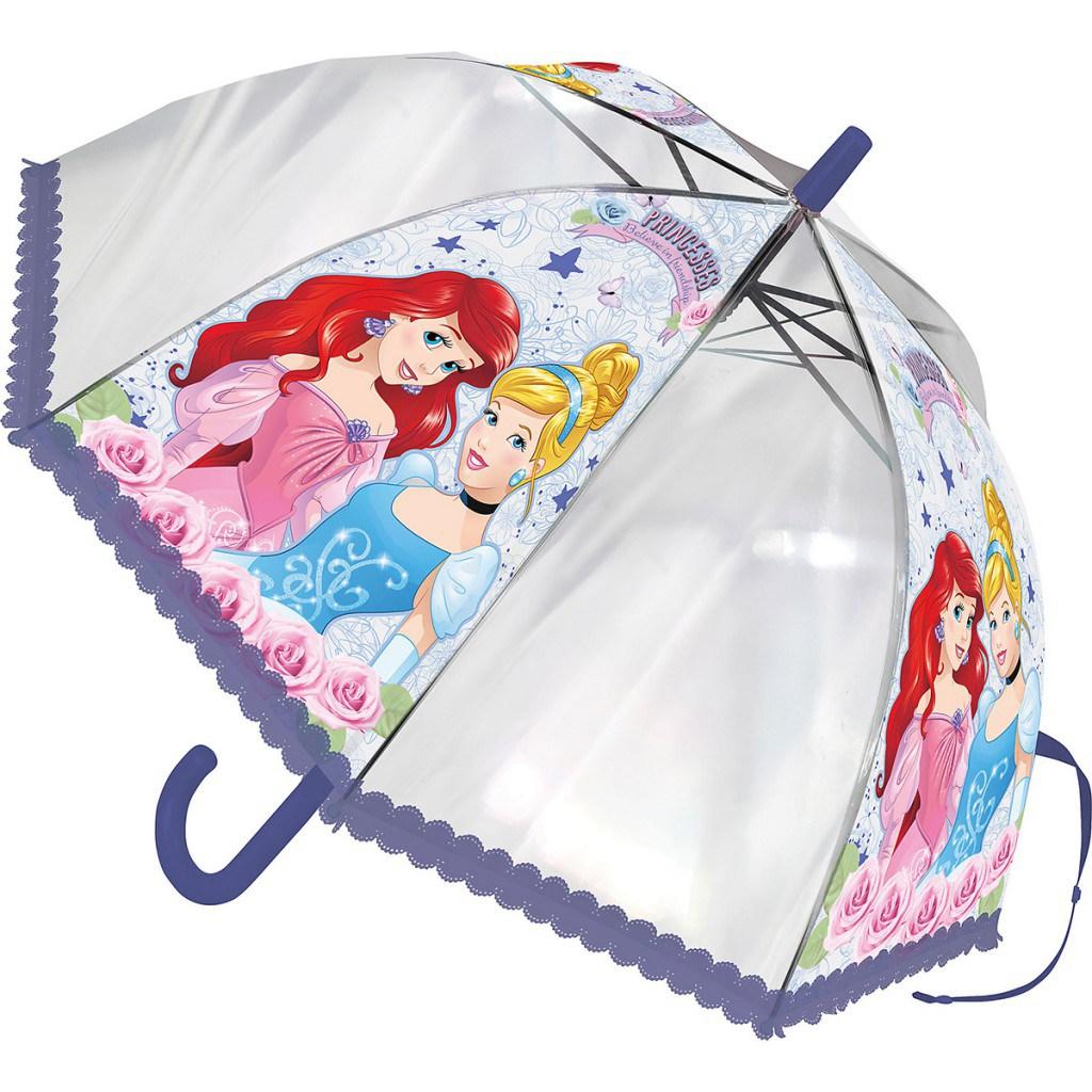 Модный детский зонтик для девочек принцессы