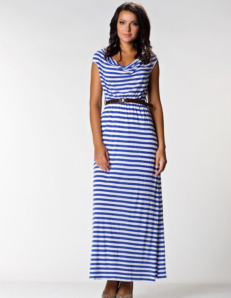 Удобное платье для полной женщины