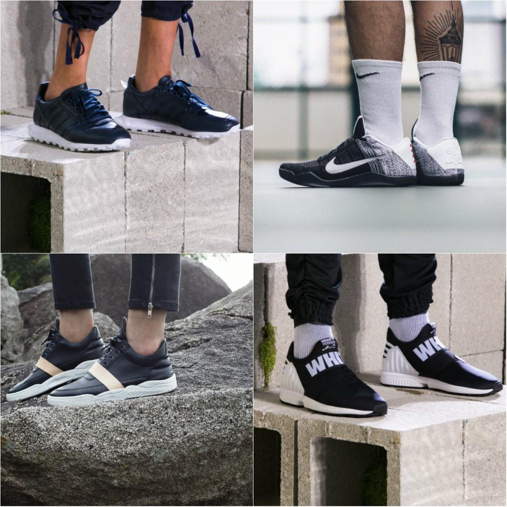Модели стильной мужской спортивной обуви