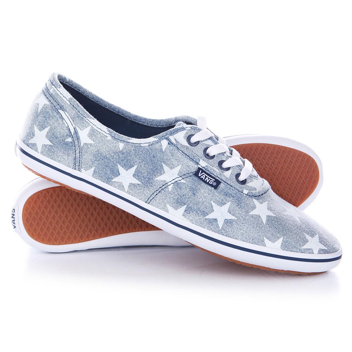 Модная женская спортивная обувь Красивые вансы со звездным принтом ... 0067e20bf10
