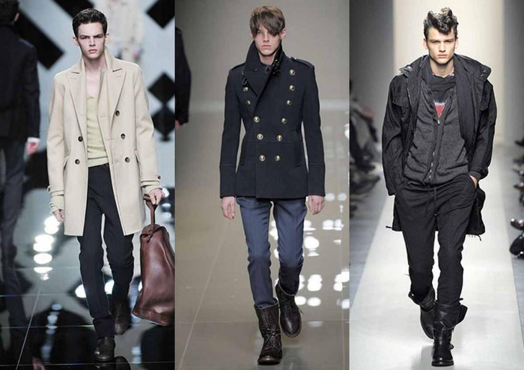 Мужская одежда в стиле милитари