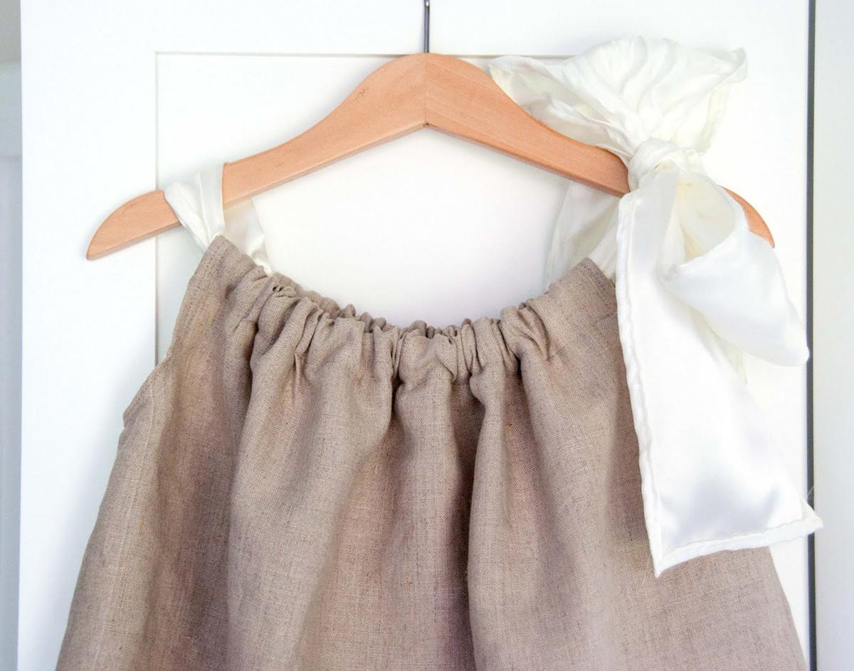 связать теплое платье девочке 2 лет