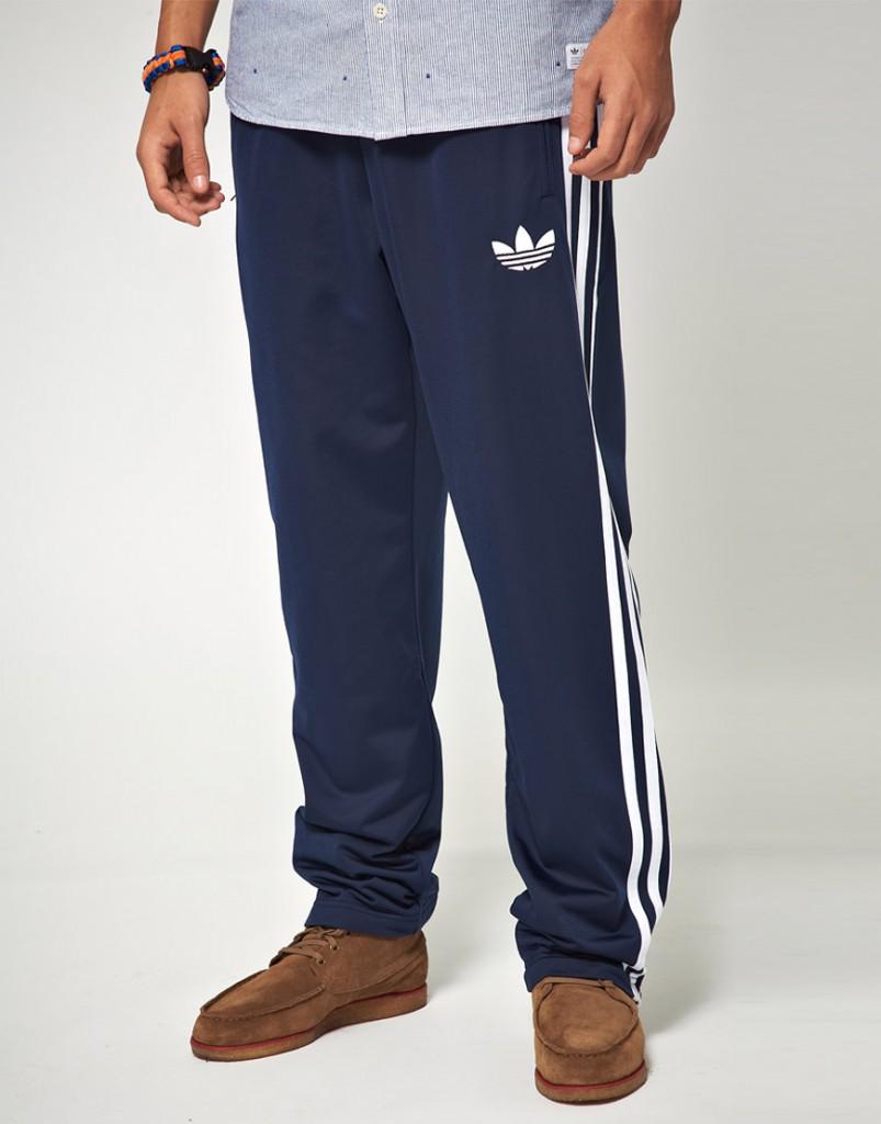 Модные спортивные мужские синие брюки