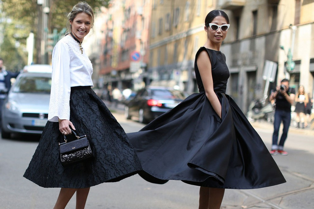 Стиль нью лук в женской одежде