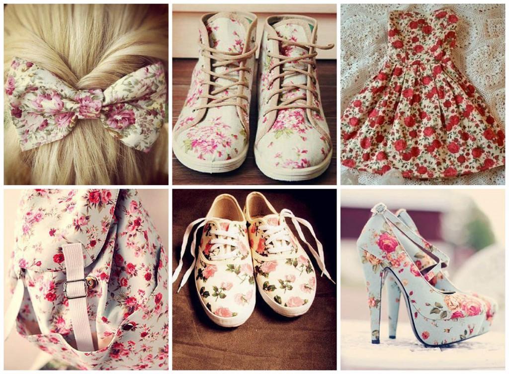 Обувь и аксессуары в стиле прованс