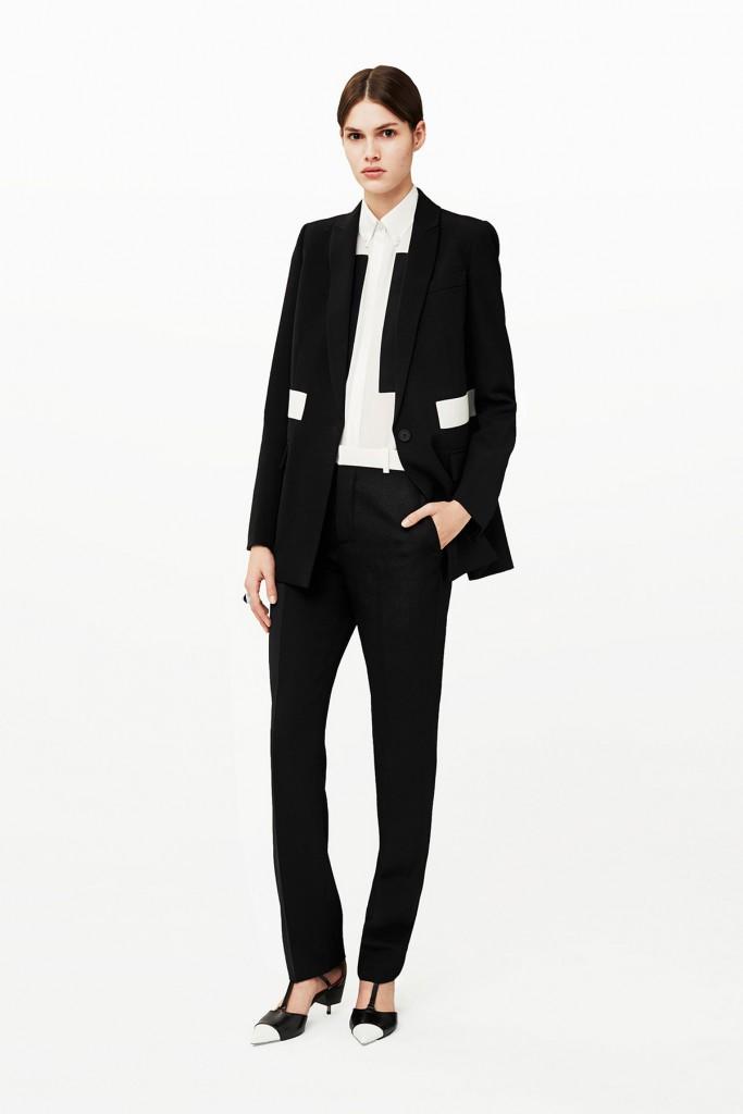 Летний офисный женский костюм