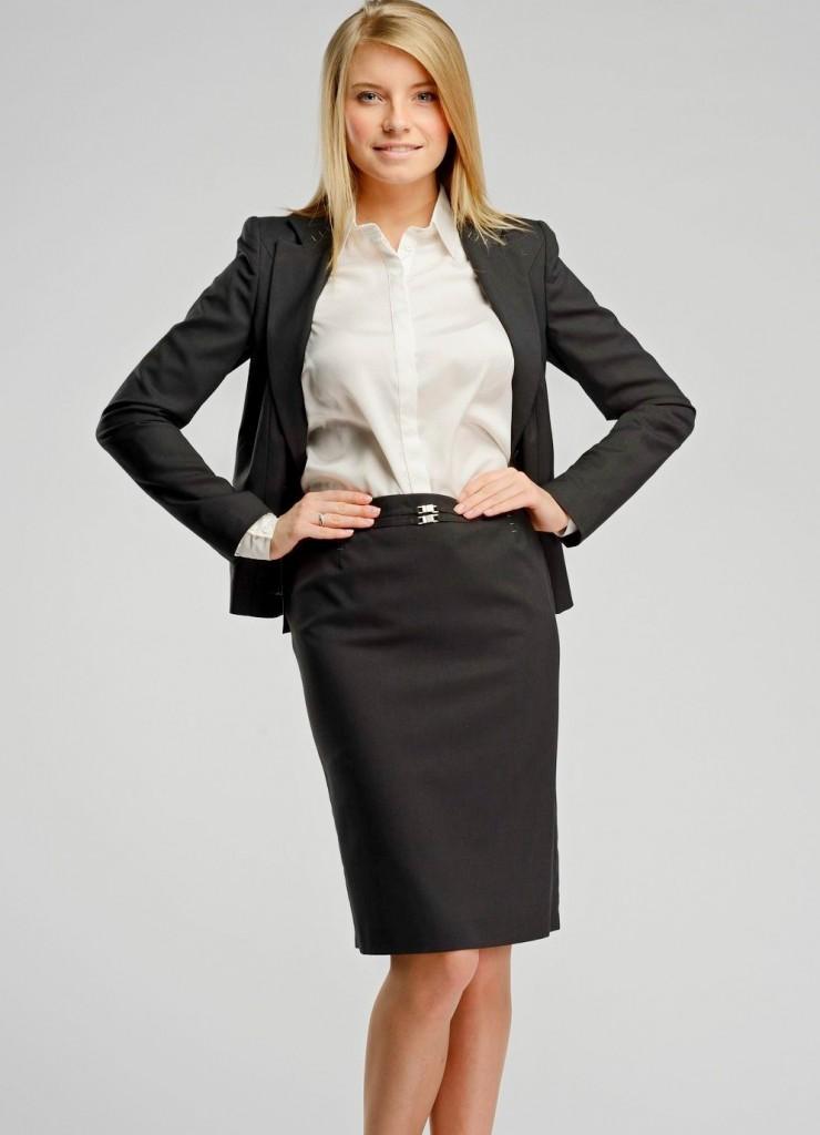 Строгий женский деловой стиль