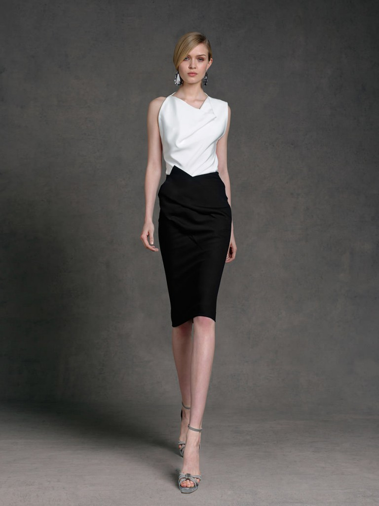 Деловая юбка и блузка