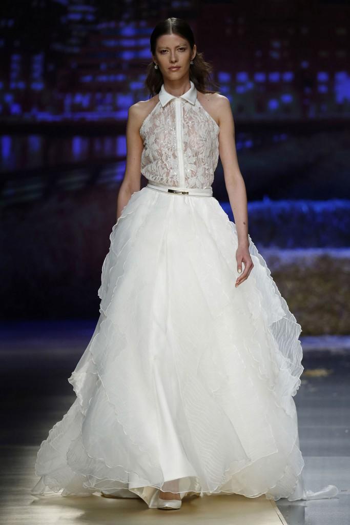 Красивое свадебное платье в стиле casual