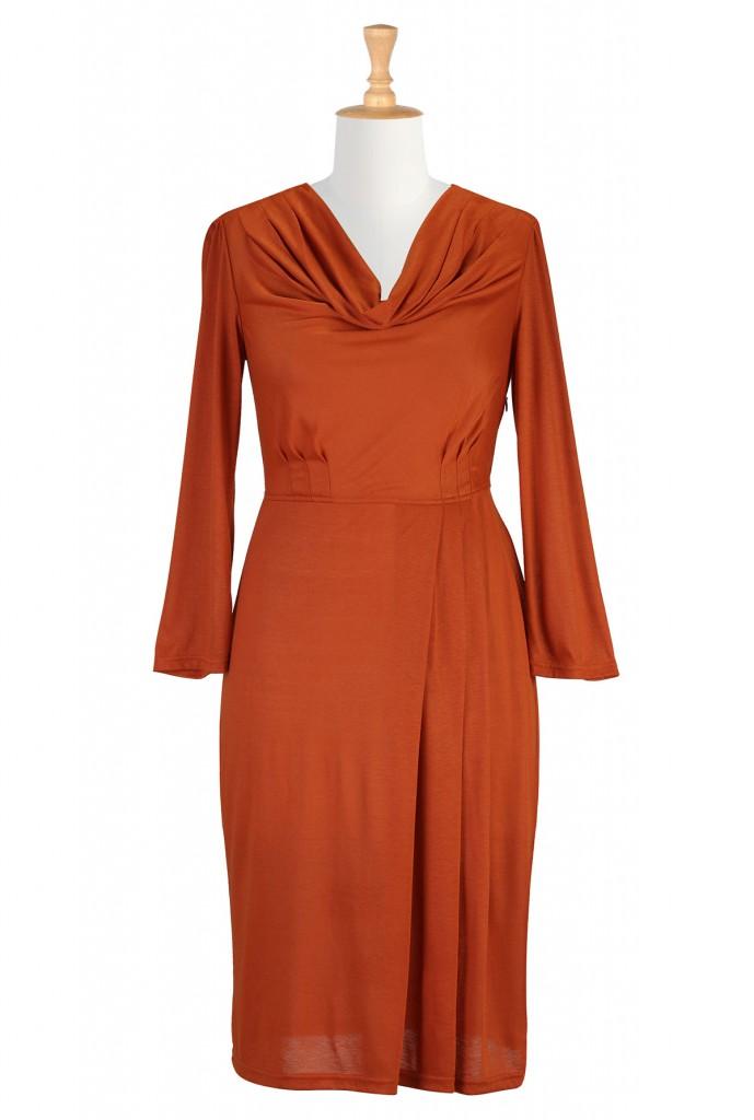 Красивое платье для женщины 50 лет