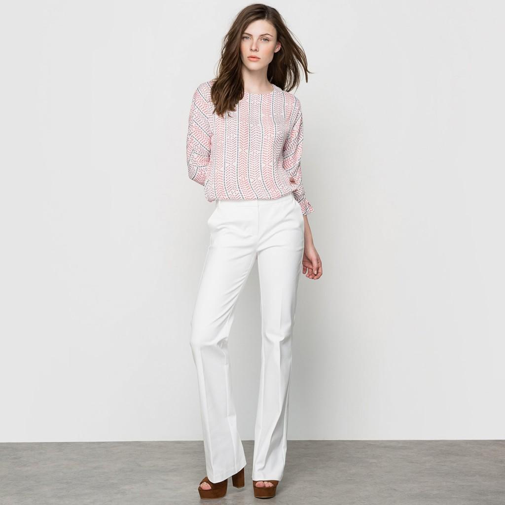 Белые строгие брюки для женщин после 40 лет