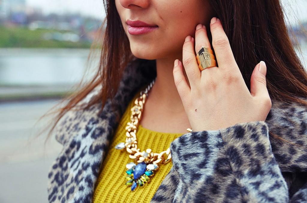 Модные аксессуары с леопардовым принтом
