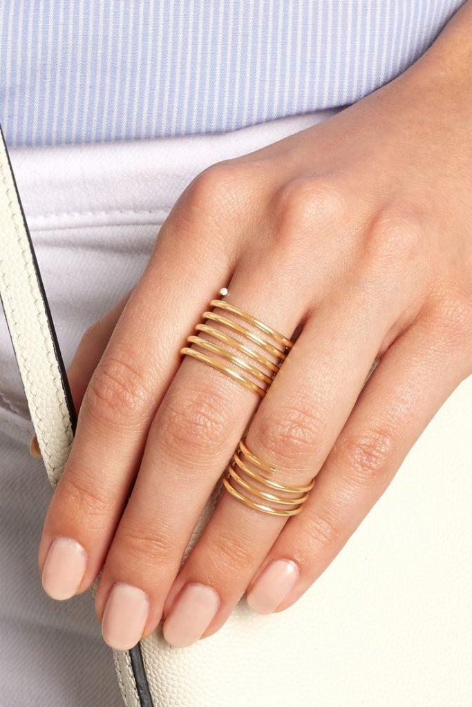 Кольца-пружинки на фаланги пальцев