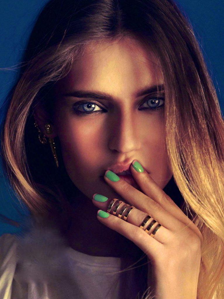 Двойное кольцо на фаланги пальцев