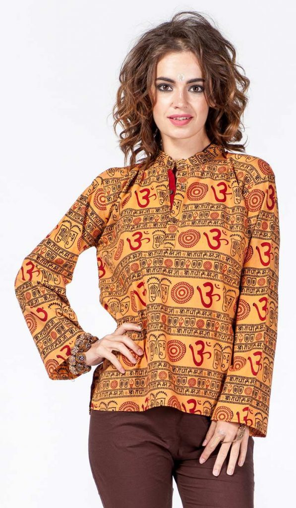 Женская индийская рубашка