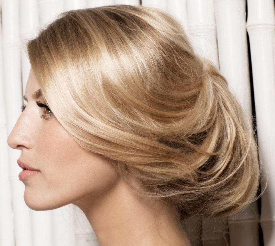 Свободная прическа ракушка на длинные волосы