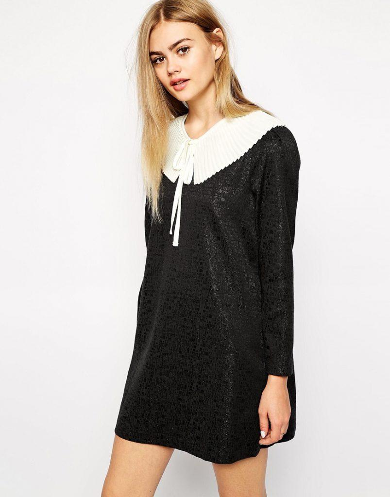 Короткое коктейльное винтажное платье
