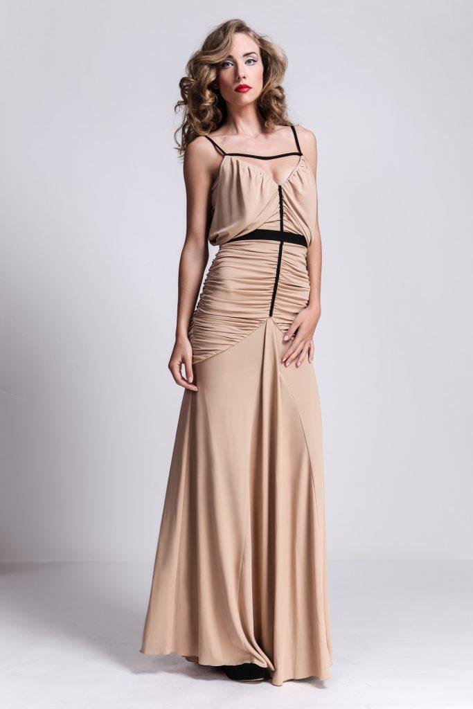 Винтажное платье для выпускного бала