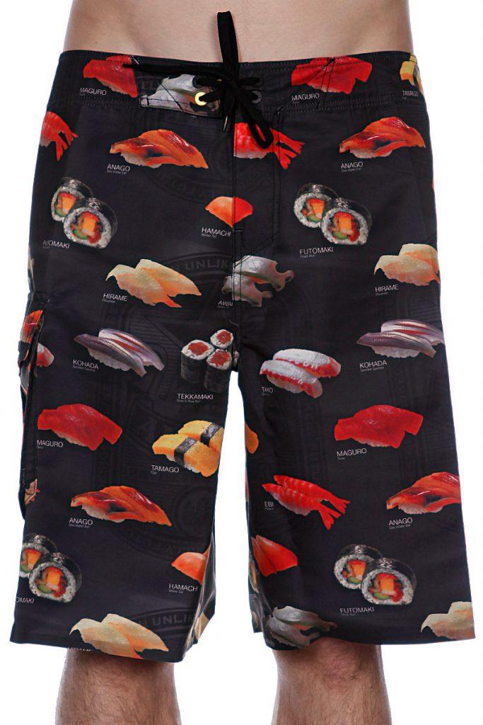 Забавные пляжные мужские шорты