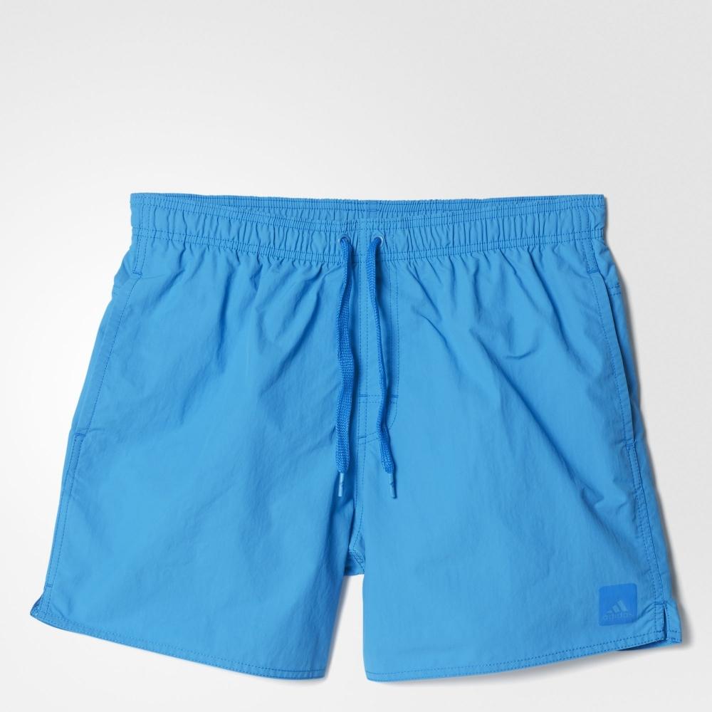 Синие стильные пляжные мужские шорты