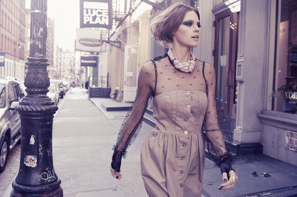 Винтажная одежда: женская ретро мода