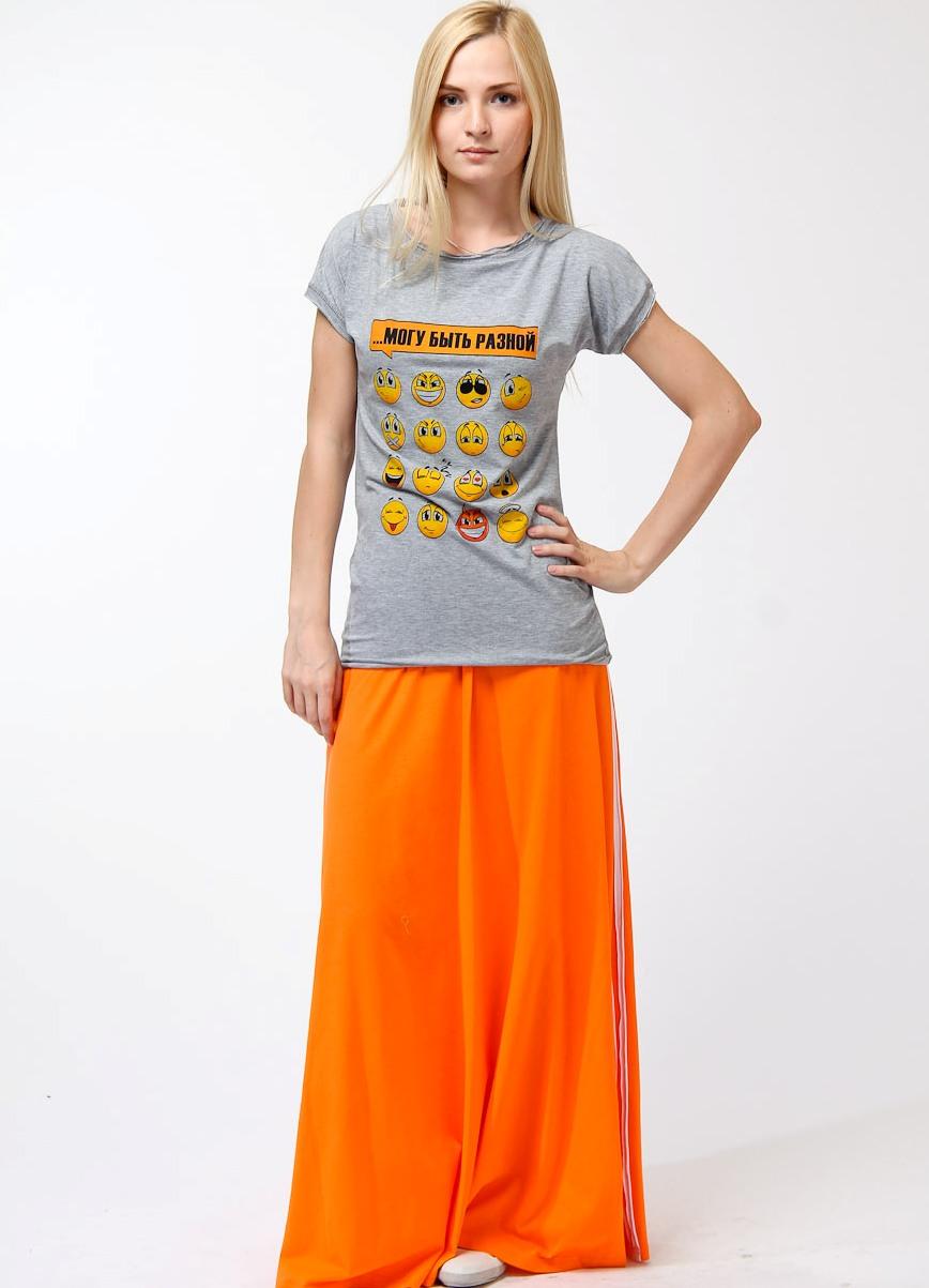 Юбка оранжевая с чем носить фото