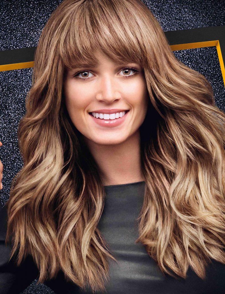 Густые средне-русые волосы