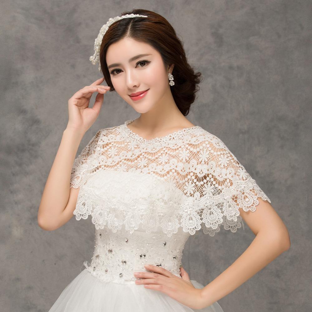 Кружевная свадебная накидка