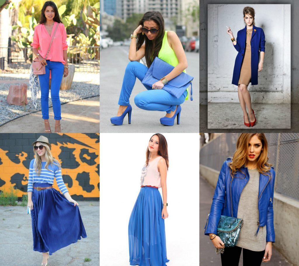 Светло-синий цвет в одежде