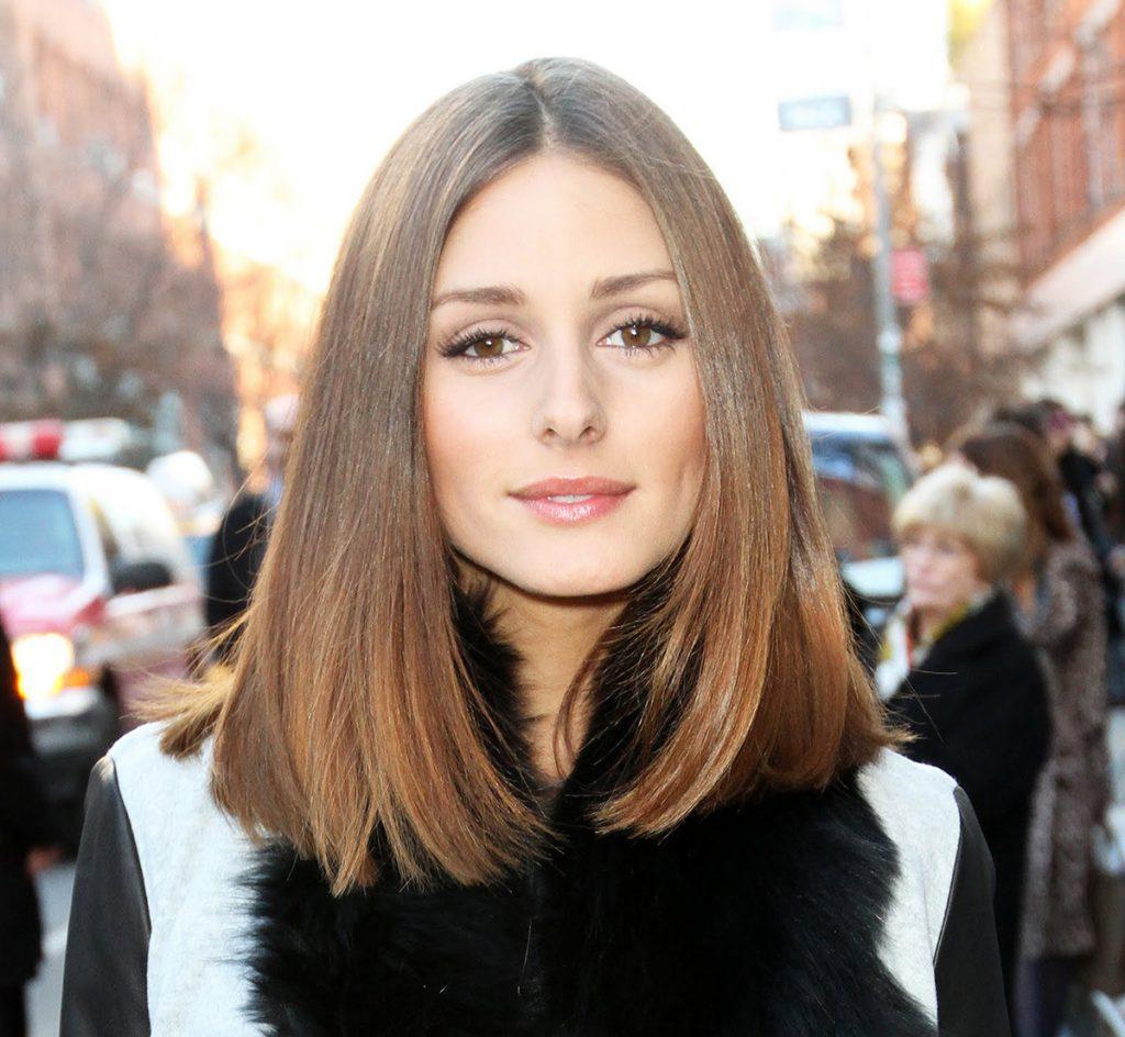 Красивая длинная стрижка на тонкие волосы