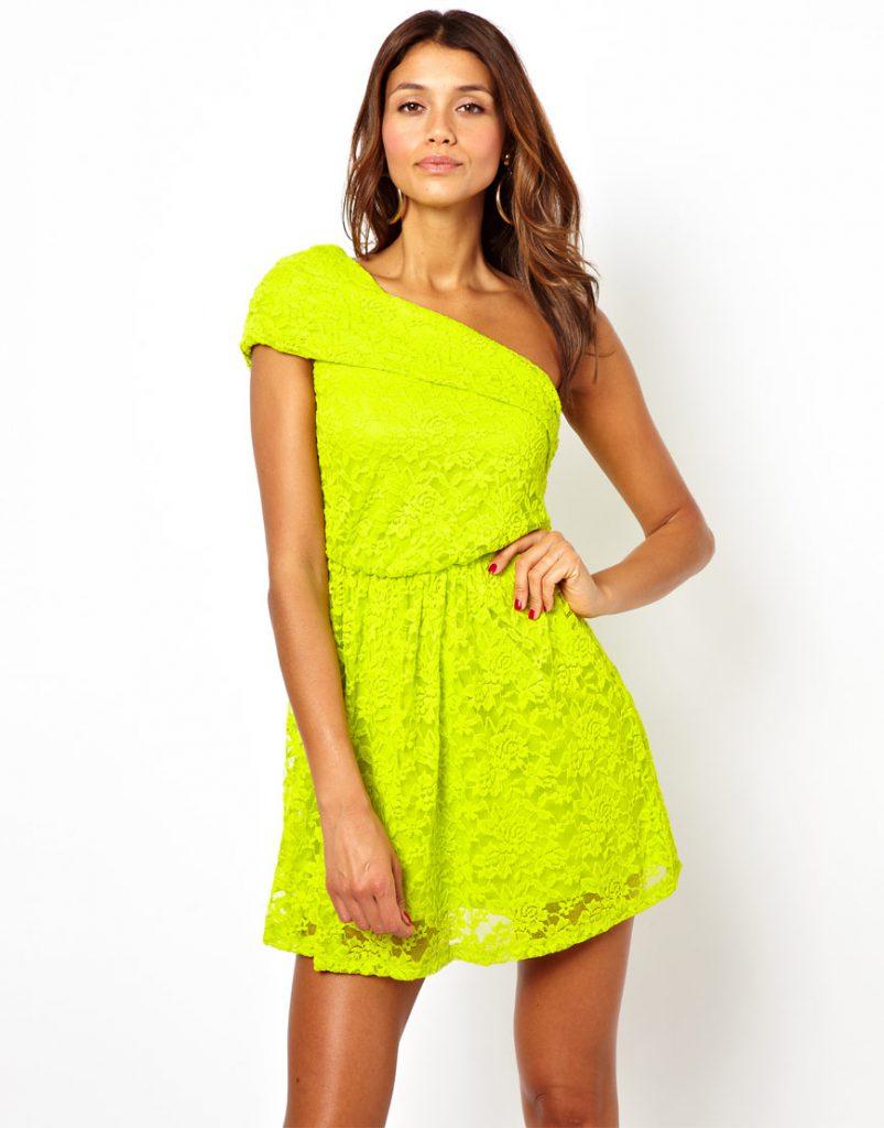 Платье грушевого цвета
