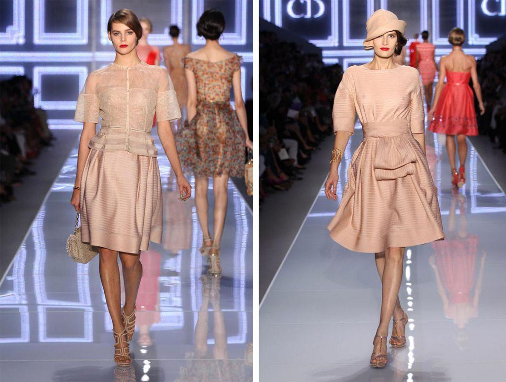 Бежевые платья