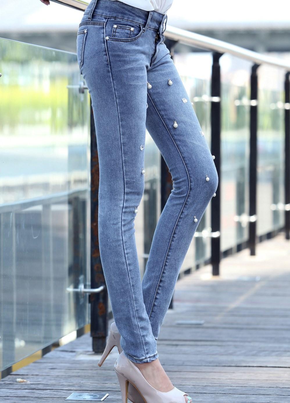 Как расшить джинсы бусинами 9