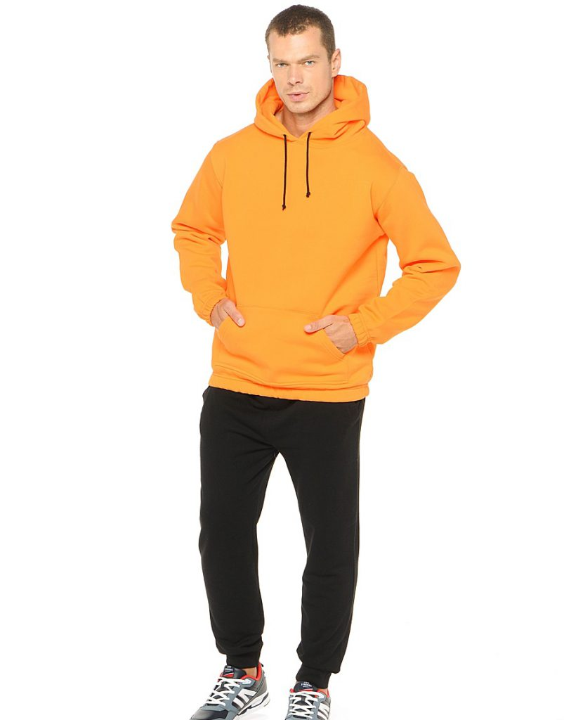 Мужская оранжевая кофта