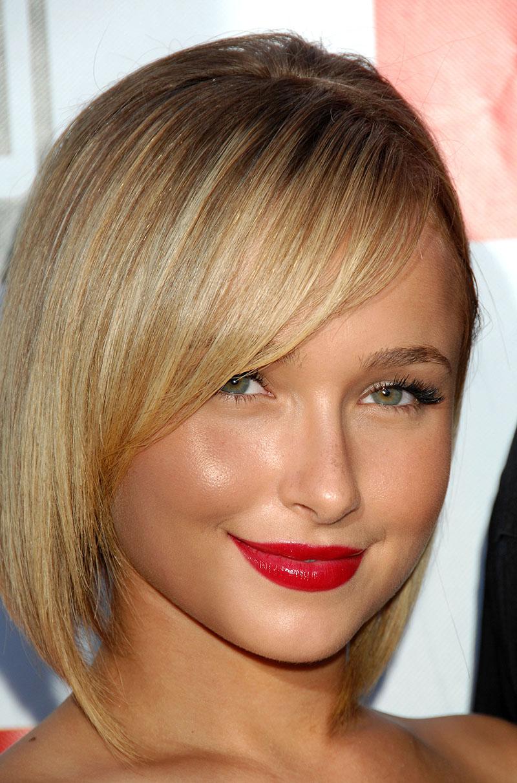 Стрижки на короткие волосы с тонкими волосами с круглым лицом 5