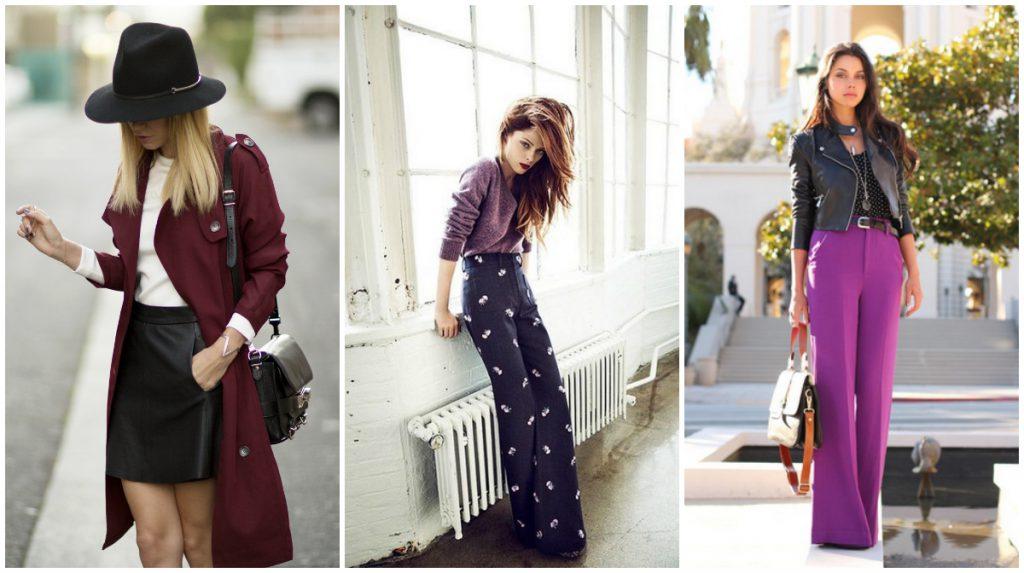 Красивые сочетания сливового цвета в одежде