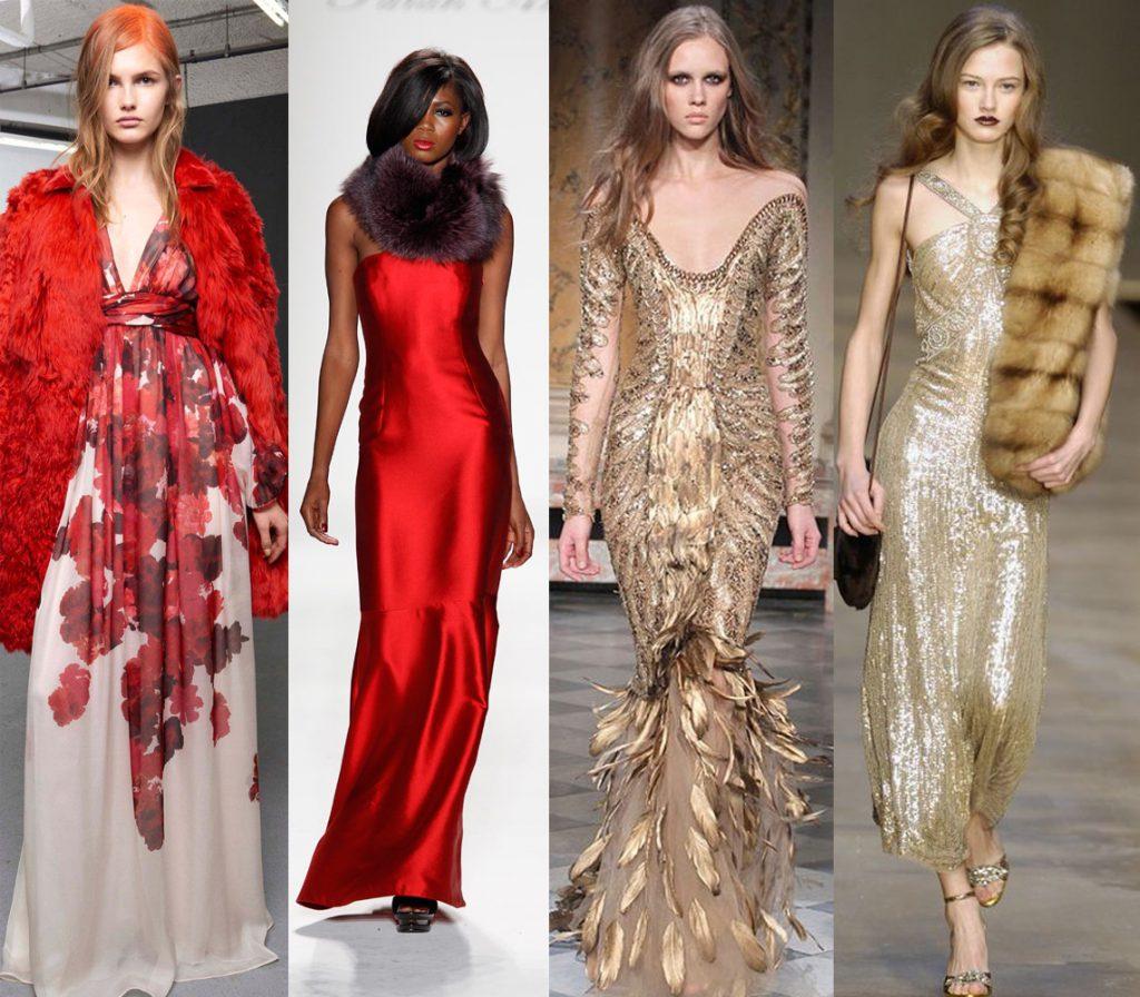 Вечерние платья для встречи Нового 2017 года