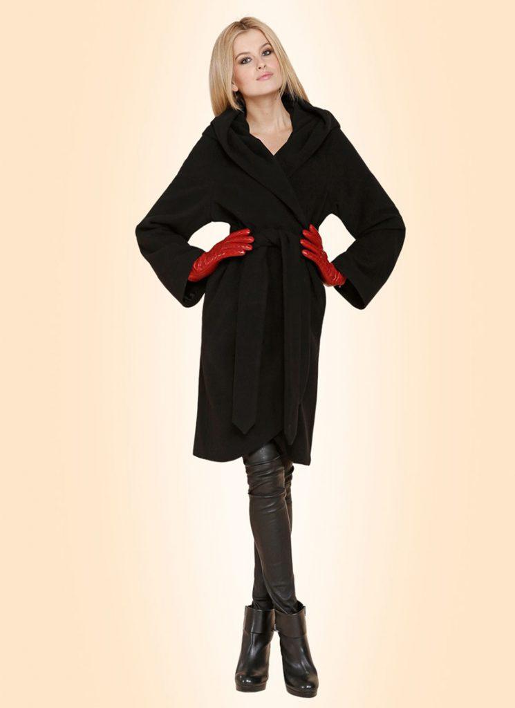 Пальто для фигуры прямоугольник