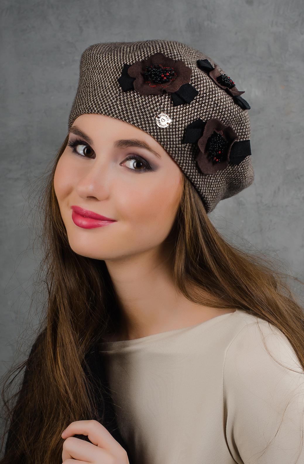 Женская шапка своими руками спицами с фото и видео