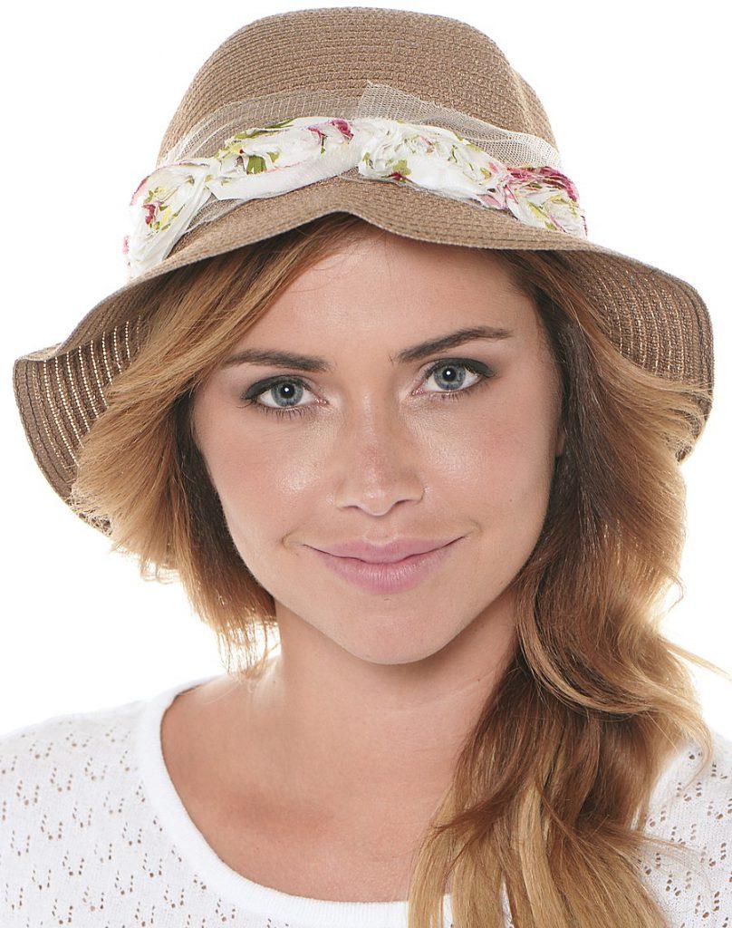 Украшение шляпы тканью