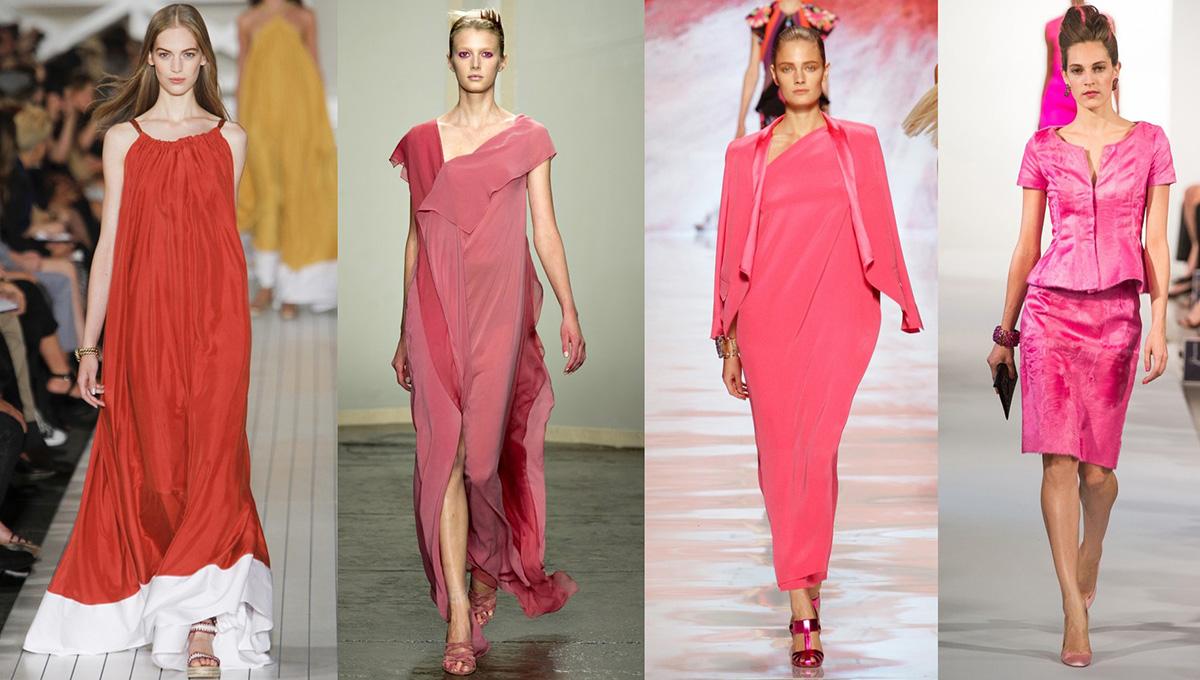 """Картинки по запросу """"кораллово розовый цвет одежды"""""""